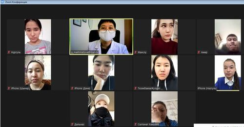 В группе ПБС-21 проведена установочная видеоконференция